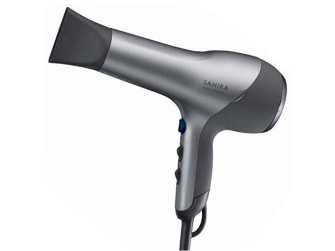 WELLA Professional Sahira Anti-Static 1600W - Kadeřnický profesionální fén na vlasy - stříbrný