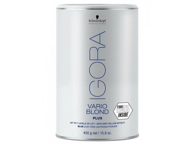 SCHWARZKOPF Igora Vario Blond Plus odbarvovací prášek platinový melír 450g