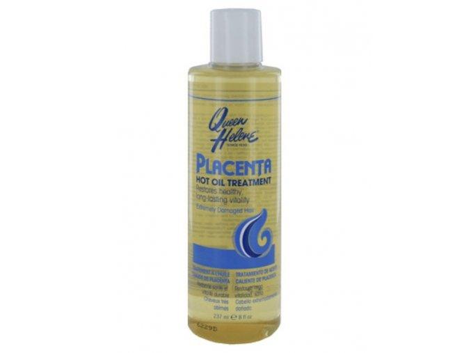 QUEEN HELENE Placenta Hot Oil Treatment - pro teplý vlasový zábal 237ml