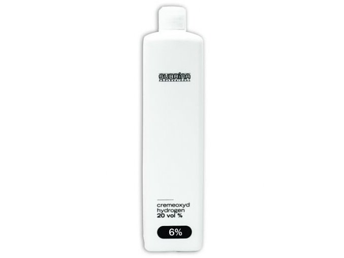 SUBRÍNA Oxidanty Cremeoxyd 6% (20vol) - krémový peroxid vodíků 1000ml
