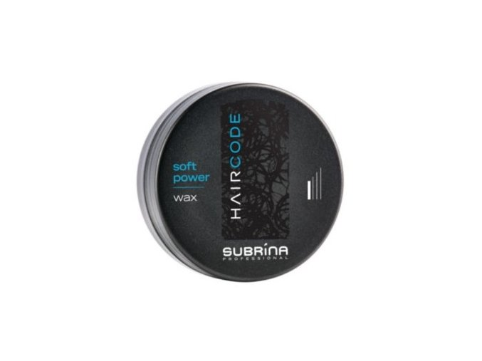 SUBRÍNA Hair Code Soft Power Wax - tvarovací vosk na vlasy 100ml