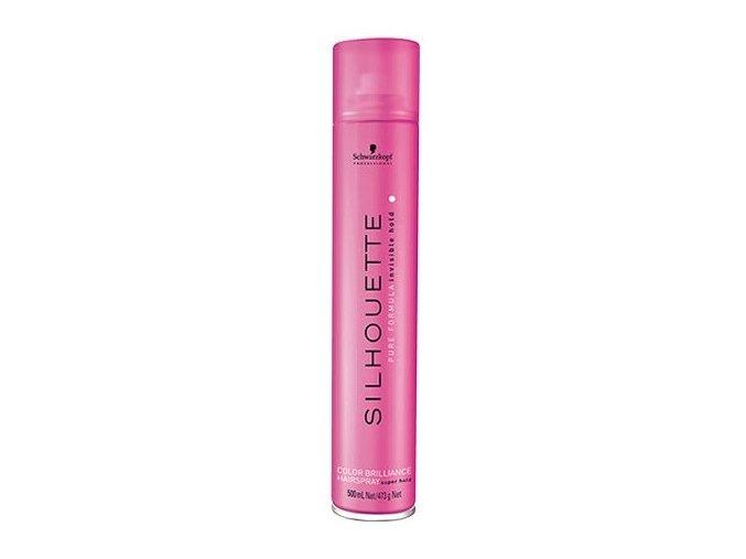 SCHWARZKOPF Silhouette Color Brilliance Hairspray - lak na vlasy 500ml