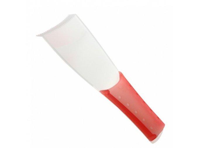 DUKO Pomůcky Kadeřnické melírovací hrábě 6,8cm pro vytváření barevných proužků ve vlasech