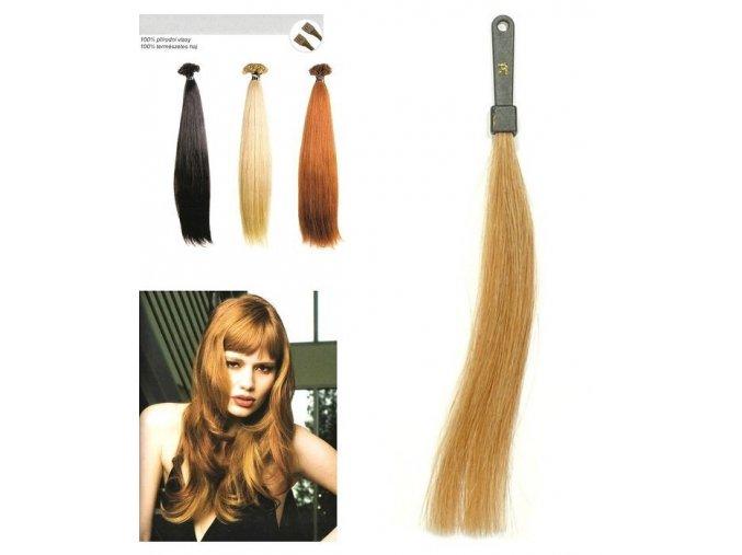 SO.CAP. Rovné vlasy Přírodní odstín 8001LC 35-40cm- extra blond 26