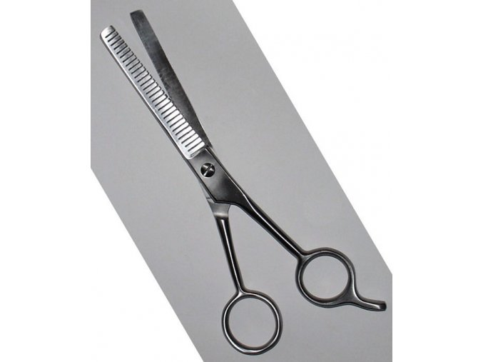 KDS Sedlčany Kadeřnické efilační nůžky na vlasy 4268 - 15,5cm 6´