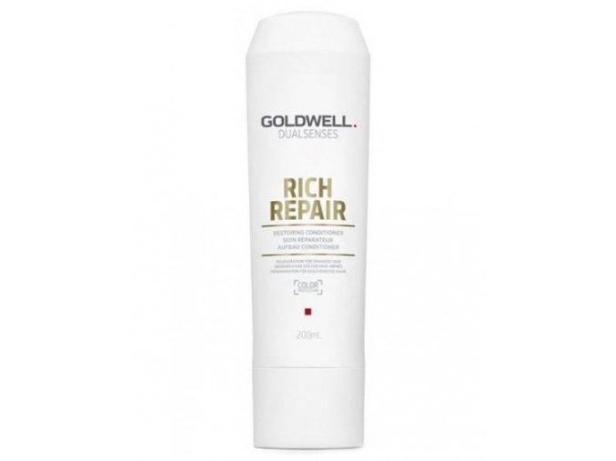 GOLDWELL Dualsenses Rich Repair Conditioner 200ml - kondicionér pro suché a lámavé vlasy