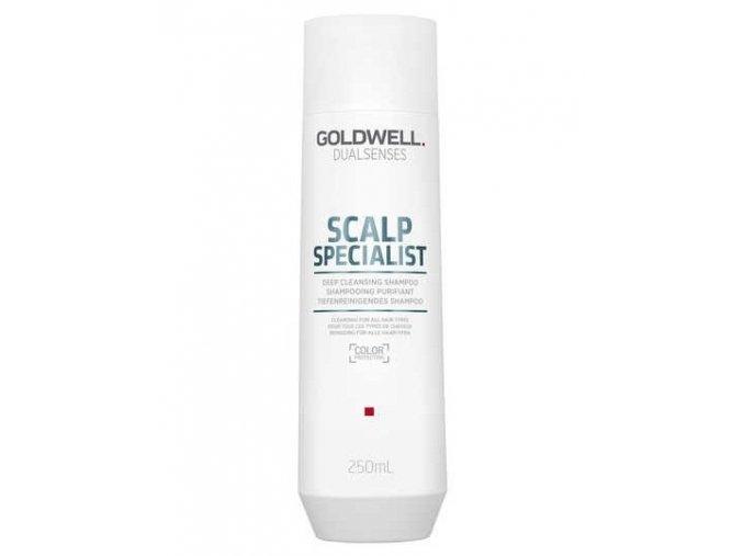 GOLDWELL Dualsenses Deep Cleansing Shampoo 250ml - šampon na mastné vlasy