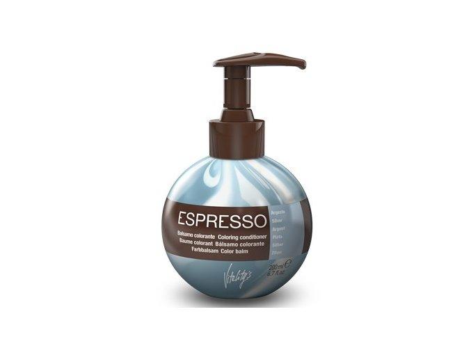 VITALITYS Espresso Barevný tónovací balzám - Argento - stříbrný 200ml