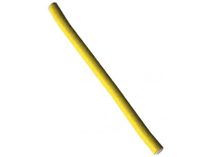 DUKO Natáčky Kadeřnické papiloty na vlasy průměr 10mm - žluté 10ks