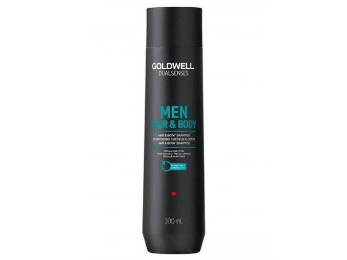 GOLDWELL Dualsenses Men Hair And Body Shampoo 300ml - šampon a sprchový gel pro muže