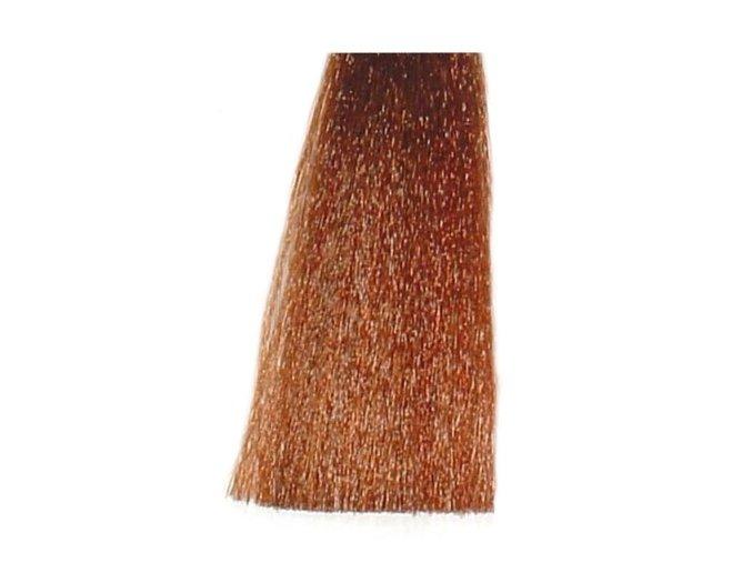BES Hi-Fi Hair Color Krémová barva na vlasy - Tmavá měděno zlatá 6-43