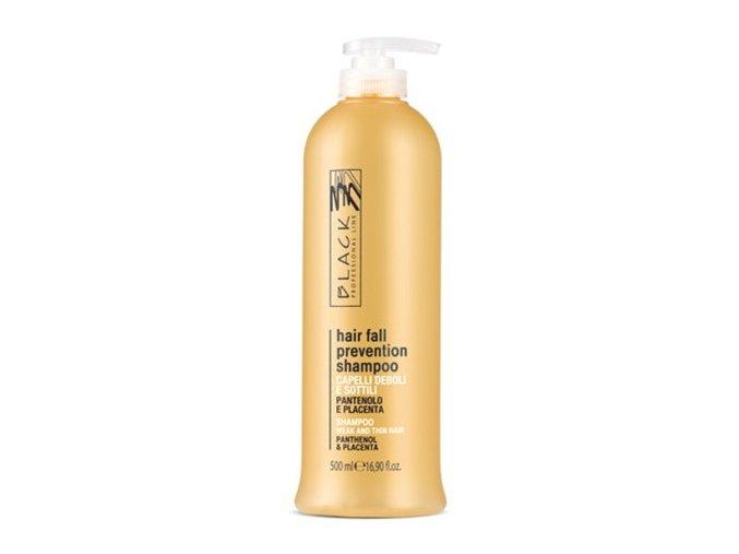 BLACK Péče o vlasy Hair Fall Shampoo placentový šampon na vlasy 500ml