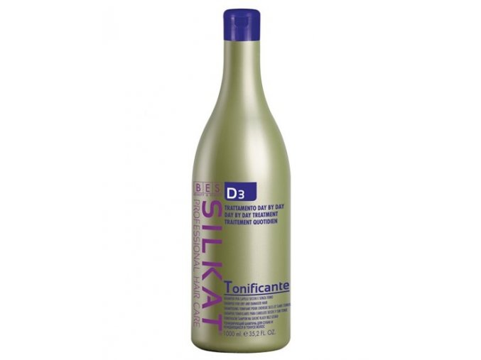 BES Silkat D3 Shampoo Tonificante - regenerační šampon na vlasy 1000ml