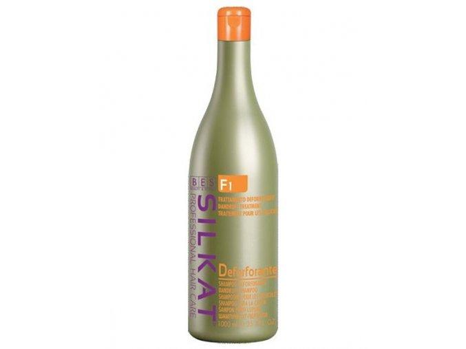 BES Silkat F1 Shampoo Deforforante - šampon na vlasy proti lupům 1000ml