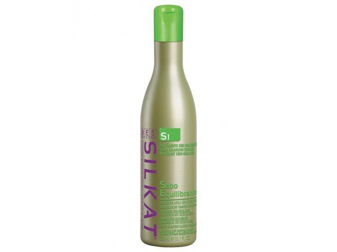 BES Silkat S1 Shampoo Seboequilibrante - šampon na mastné vlasy 300ml