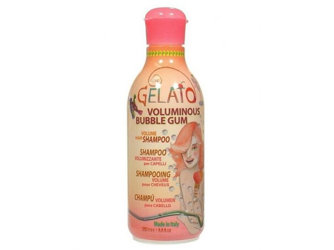 BES Gelato Volumizační šampon s vůní žvýkačky pro objem vlasů 250ml