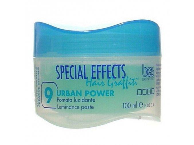 BES Special Effects Urban Power č.9 - Pomáda na dodání lesku 100ml