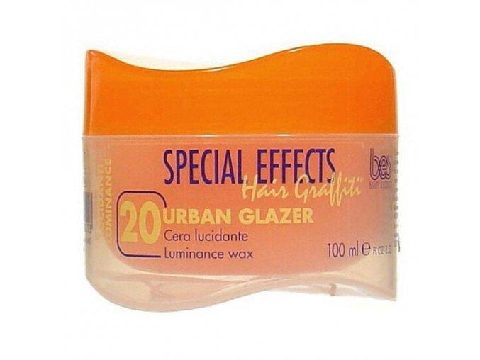 BES Special Effects Urban Glazer č.20 - Vosk na vlasy s leskem 100ml
