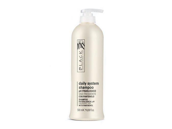BLACK Péče o vlasy Shampoo Uso Frequente šampon pro všechny typy vlasů 500ml