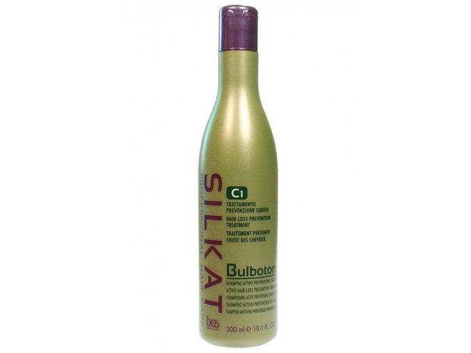 BES Silkat Bulboton Shampoo C1 - šampon proti nadměrnému vypadávání vlasů 300ml