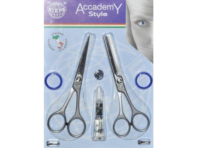 KIEPE Professional Academy Style Profesionální nůžky 5,5' + efilační nůžky