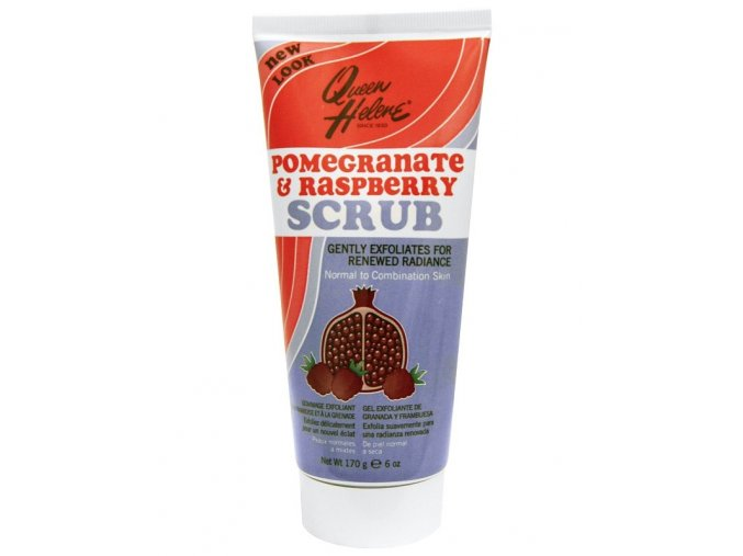 QUEEN HELENE Pomegranate And Raspberry Scrub - pleťový peeling s antioxidanty 170g
