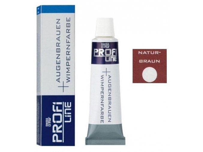 PROFI LINE Profesionální barva na obočí a řasy 15ml - Přírodní hnědá
