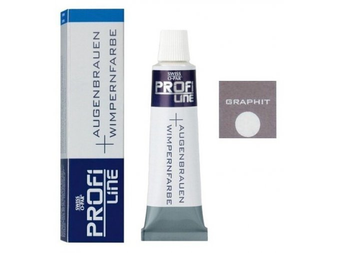 PROFI LINE Barvy Profesionální barva na řasy a obočí - Grafitová