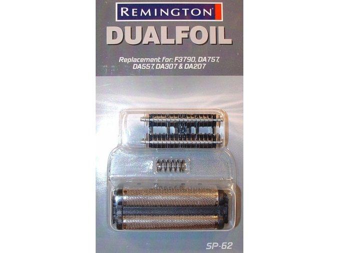 REMINGTON SP-62 Náhradní set planžet pro holící strojky Remington - F3800, F3790 a DA757, 557, 307, 207