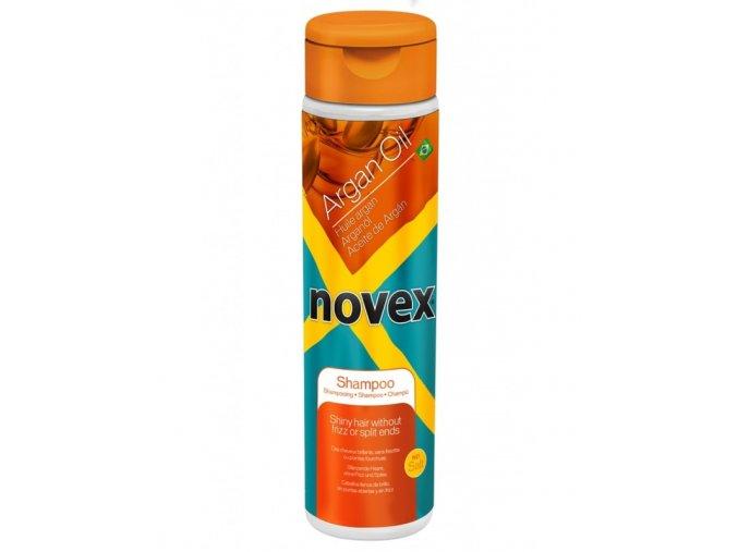 NOVEX Argan Oil Shampoo 300ml - arganový šampon na poškozené vlasy