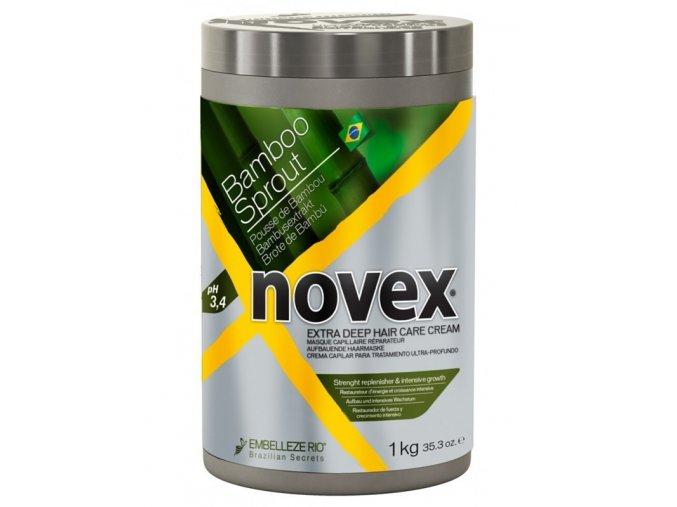 NOVEX Bamboo Sprout Deep Treatment Conditioner 1000g - hydratační kúra na suché vlasy