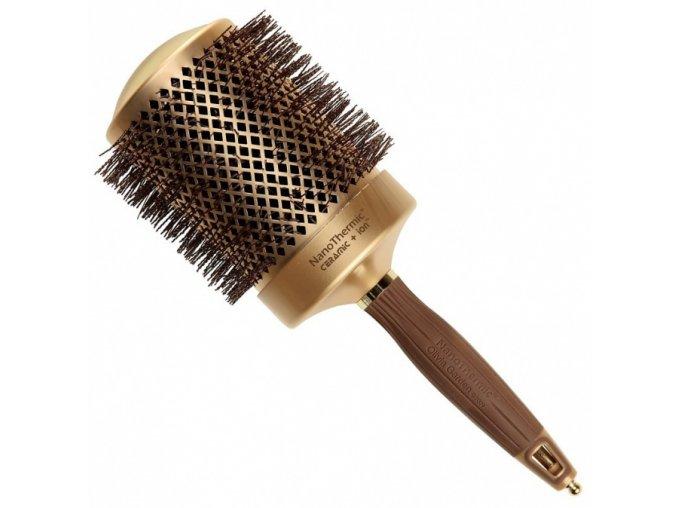OLIVIA GARDEN NT-82 Nano Thermic Ceramic + ION - kulatý kartáč na vlasy 82mm