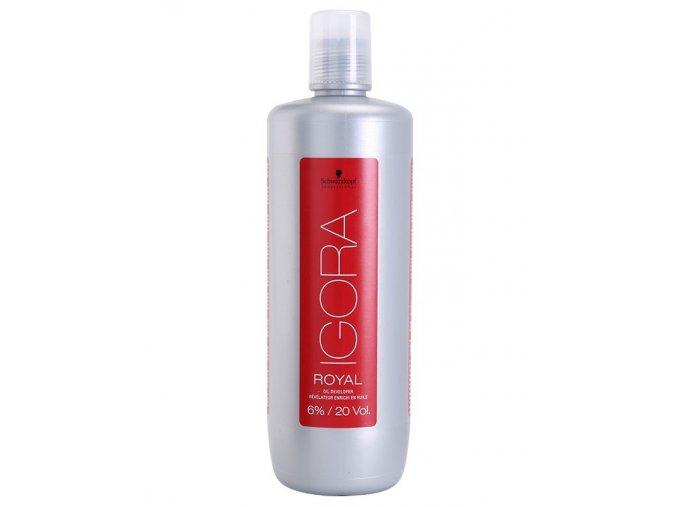 SCHWARZKOPF Igora Royal Oil Developer 6% (vol 20) - emulzní peroxid vodíků 1000ml