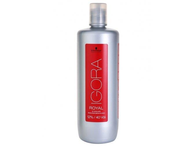 SCHWARZKOPF Igora Royal Oil Developer 12% (vol 40) - emulzní peroxid vodíků 1000ml