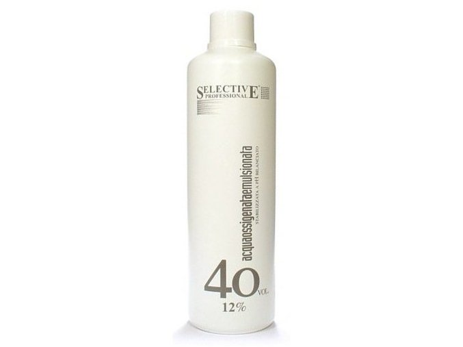 SELECTIVE Oxidanty Acqua Ossigenata Emulsionata - peroxid vodíků 12% ( 40vol )