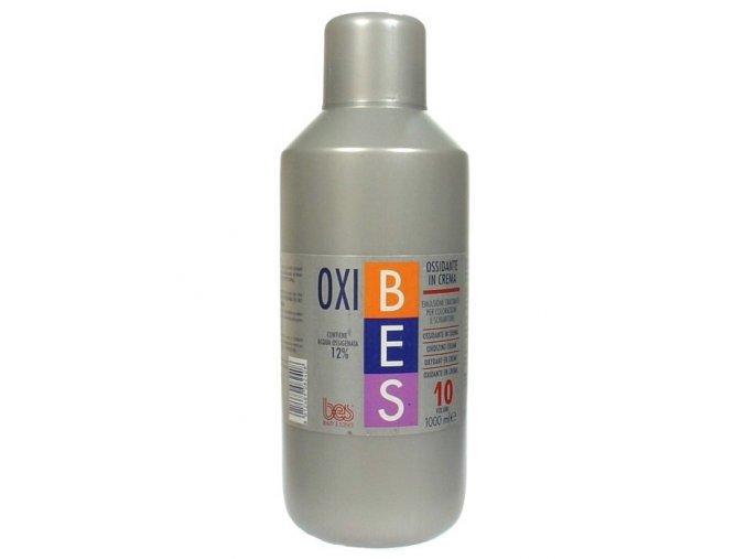 BES Oxibes 3% Ossidante In Crema - krémový peroxid pro barvy Bes HiFi - 3% (10vol)