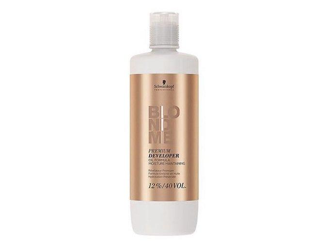 SCHWARZKOPF Blondme Premium Care Developer 12% (40vol) - krémový peroxid 1000ml