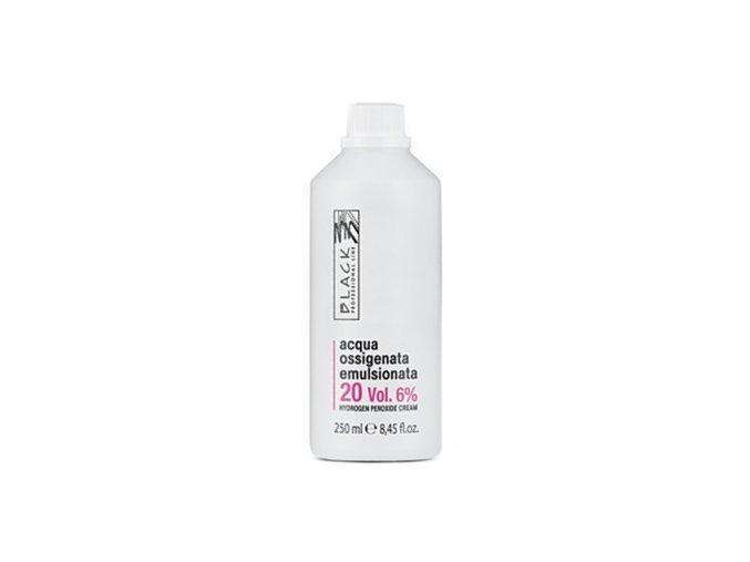 BLACK Professional Krémový 6% peroxid vodíků 250ml - oxidační krém 20vol
