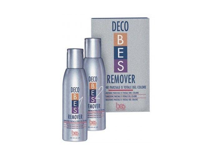 BES Decobes Remover 2x150ml - stahovač, odstraňovač chemické barvy z vlasů