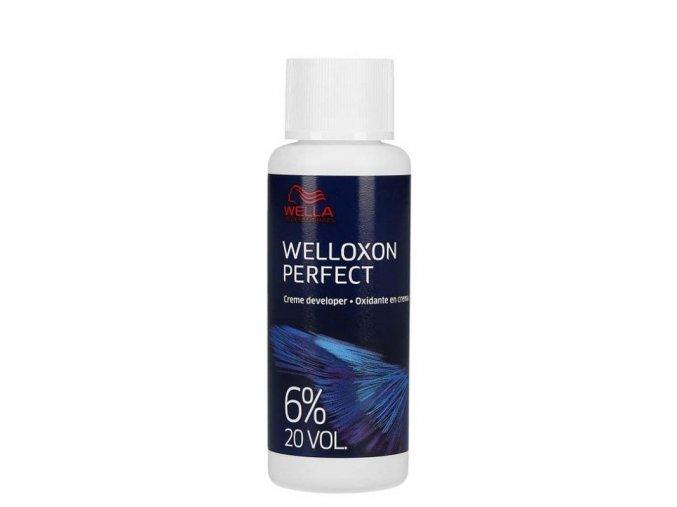 WELLA Professionals Welloxon Perfect 6% (vol.20) - Oxidační emulze 60ml