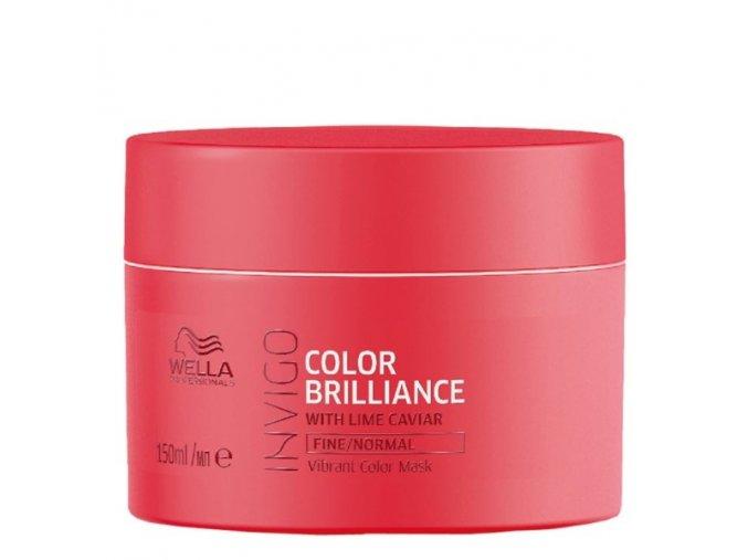 WELLA Invigo Color Brilliance Fine Vibrant Color Mask 150ml - kúra pro jemné barvené vlasy