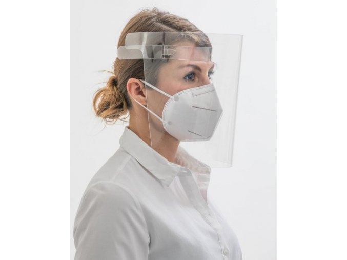 Obličejový štít Univerzální ochranný obličejový štít pro všestranné použití