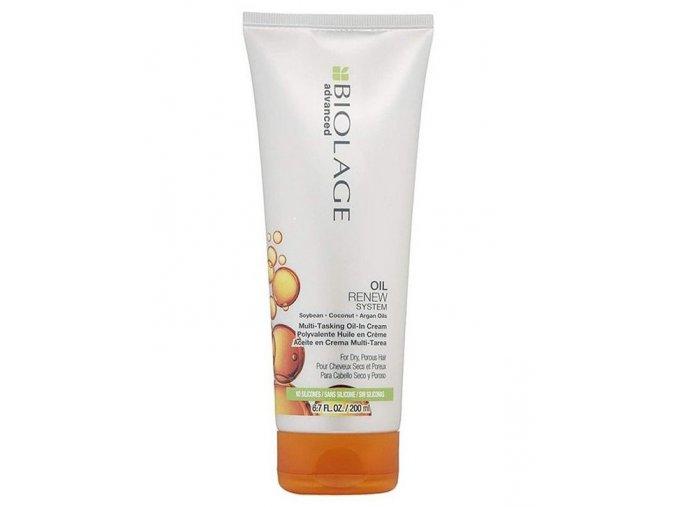 MATRIX Biolage Oil Renew Multi-Tasking Oil-In Cream 200ml - olejový krém na suché vlasy