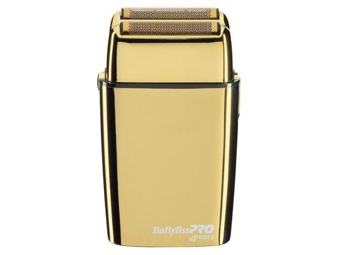 BABYLISS PRO FXFS2GE FOIL FX02 Barbers - zlatý profi dvou planžetový holicí strojek