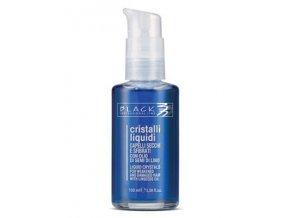 BLACK Professional Cristalli Liquidi BLU 100ml - Tekuté krystaly pro silně poškozené vlasy