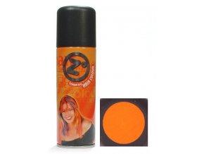 Z GOOD MARK Barva na vlasy sprej - Barevný lak na vlasy oranžový