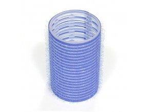 DUKO Natáčky Velcro natáčky na vlasy 38mm tmavě modré 6ks