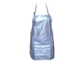 SALON Komplet Zástěra kadeřnická střihací - modrá