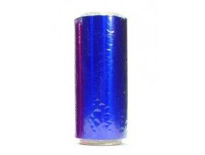 Kadeřnické pomůcky Kadeřnický barevný alobal na melír 50m - modrý - slabší