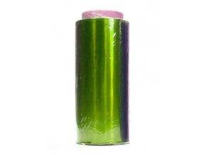 Kadeřnické pomůcky Kadeřnický profi barevný alobal na melír 50m - zelený - slabší